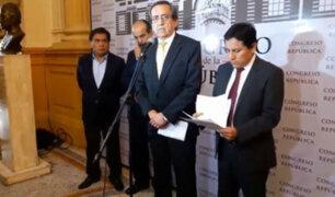 Apra anuncia retiro de proyecto de ley que buscaba modificar referéndum