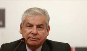 Premier César Villanueva confirmó fuga de Hinostroza