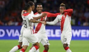 Selección Peruana goleó 3-0 a Chile en partido amistoso
