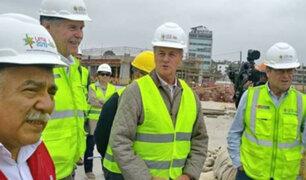 Panamericanos 2019: virtual alcalde de Lima verificó avance de obras
