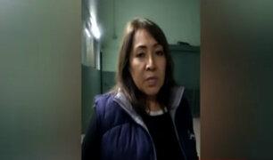 La Victoria: empresaria denuncia ser víctima de una detención arbitraria