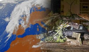 """Portugal: Tormenta tropical """"Leslie"""" deja al menos 27 heridos y cuantiosos daños materiales"""