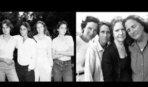 Conozca la historia de las hermanas que han posado en 40 fotos durante cuatro décadas