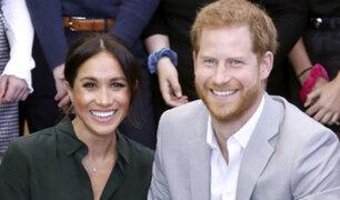 Reino Unido: el príncipe Harry y Meghan Markle esperan su primer hijo