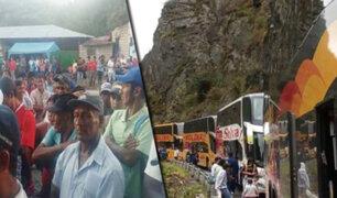 Junín: cafetaleros bloquean Carretera Central en su tercer día de paro