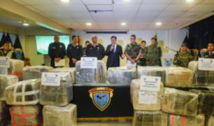 Dirandro incautó más de 800 kilos de marihuana en Cañete
