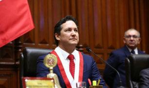 Pleno del Congreso rechazó moción de censura contra Daniel Salaverry