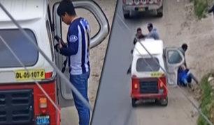 Cajamarca: Agentes Terna logran captura de banda de vendedores de autopartes robadas