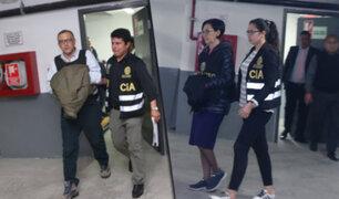 Congresistas opinan sobre detención de Ana Hertz y Pier Figari, principales asesores de Keiko