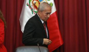 Pedro Chávarry: subcomisión suspende sesión por falta de quórum