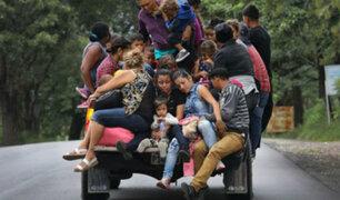 Nuevas caravanas se unen a los 700 hondureños rumbo a EEUU