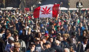 Canadá legaliza el uso recreativo de marihuana tras casi un siglo de prohibición