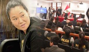 Sala Penal Nacional: Poder Judicial evalúa apelación de Keiko Fujimori