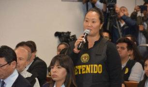 """Keiko Fujimori: """"Yo jamás me voy a fugar del país"""""""