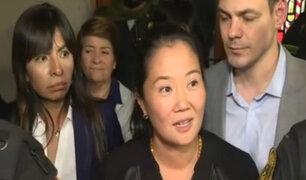 "Keiko Fujimori:  ""Han sido 7 días de calvario, muy duros"""