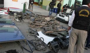 San Jacinto: la venta de autopartes robadas continúa