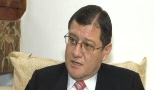Fiscal Chávez Cotrina responsabiliza al Congreso por fuga de Hinostroza