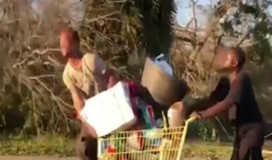 Huracán Michael: damnificados afectados por ola de saqueos