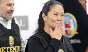 Keiko Fujimori: prensa internacional habló sobre su puesta en libertad