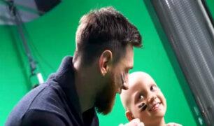 Lionel Messi financió construcción de hospital para combatir el cáncer infantil