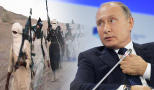 Vladimir Putin afirma que Estado Islámico secuestró a 700 extranjeros en Siria