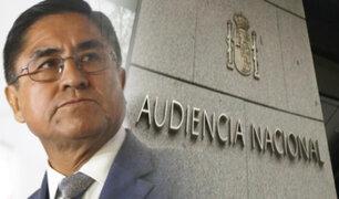 La estrategia española del exsupremo: Hinostroza detenido y en proceso de extradición