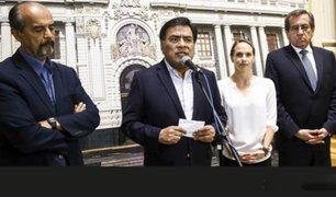 Apra presentará moción de censura contra el premier César Villanueva