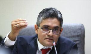 Congresistas se pronuncian tras separación de fiscal Domingo Pérez de Caso Chinchero