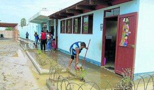 Marcona: autoridades amplían suspensión clases por lluvias