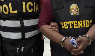 Chorrillos: capturan a sujetos que intentaban asaltar camión con mercadería