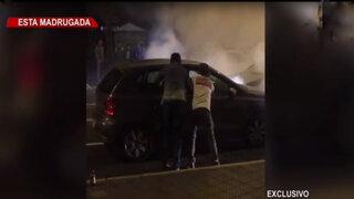 Mujer fuera de control atropella a cuatro personas en Miraflores