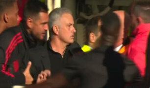 Inglaterra: Mourinho casi se pelea en pleno partido