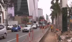 Municipalidad de Lima inició la construcción de cuarto carril en Av. Javier Prado
