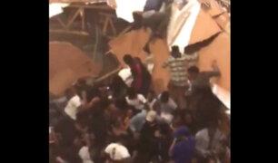 EE.UU: pista de baile se desploma y deja 30 heridos
