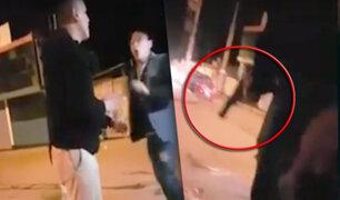 Huancayo: padre dispara a sujetos que molestaban a su hija en vía pública