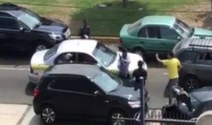 Surco: aparece nuevo video de taxista violento