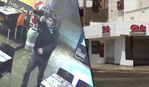 Trujillo: ladrones irrumpen en local de comida rápida y siembran pánico entre comensales