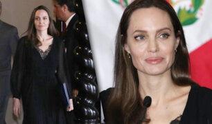 """Angelina Jolie: """"Estoy impresionada por la calidez y generosidad del pueblo peruano"""""""