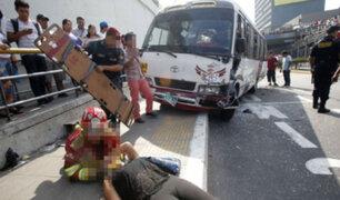 Municipio de Lima suspende servicio de 'El Chosicano' tras accidente