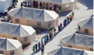 EEUU: 500 niños continúan retenidos en tiendas de campaña en Texas