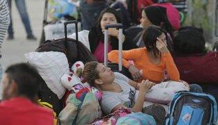 PTP vence en menos de 24 horas y más de 7000 venezolanos pugnan por ingresar al país