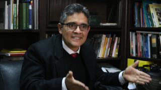 Fiscal Domingo Pérez respondió a Chávarry ante posibilidad de removerlo del cargo