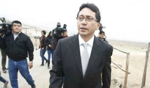 Humberto Abanto solicitó a la Fiscalía el allanamiento de su vivienda y oficina