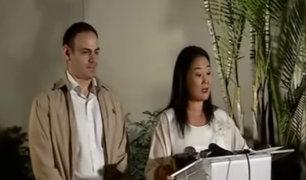 """Keiko Fujimori: """"Es el momento de recuperar un diálogo sincero"""""""