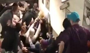 Italia: autoridades investigan desplome de escalera mecánica