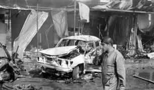Irak: explosión de un coche bomba deja seis muertos y 30 heridos