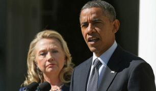 EEUU: Hallan paquetes explosivos enviados a casas de Barack Obama y Hillary Clinton