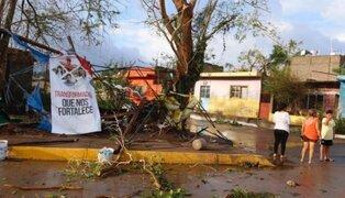Huracán Willa deja daños materiales y se desvanece en la montaña