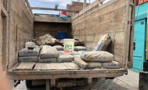 Funcionario irá a prisión por usar cemento de obra municipal para construir su casa