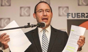 José Chlimper renunció a secretaría general de Fuerza Popular